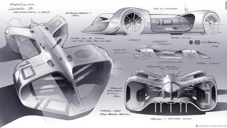 شاهدوا تصميم أول سيارة كهربائية تعمل بالذكاء الاصطناعي بالعالم