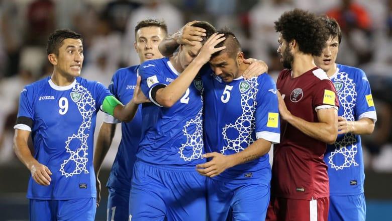 قطر تخسر من أوزباكستان وتودع تصفيات المونديال