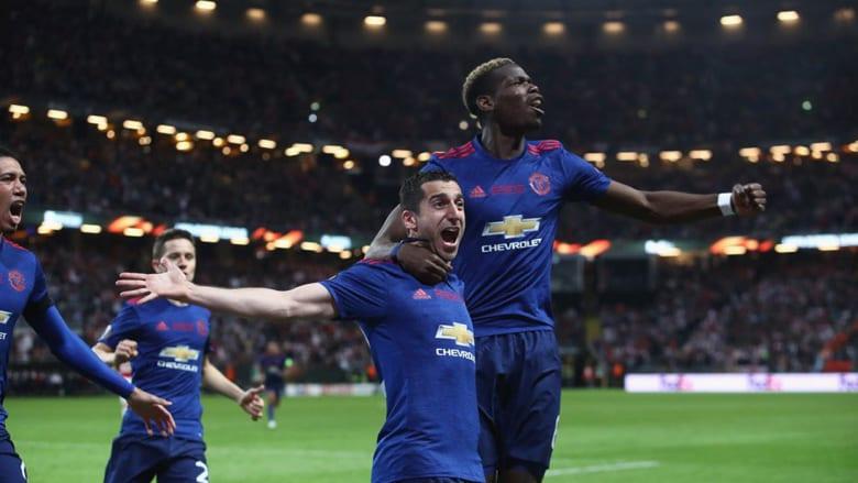 مانشستر يونايتد يحقق لقبه الأول في الدوري الأوروبي ويحجز مقعده في دوري الأبطال