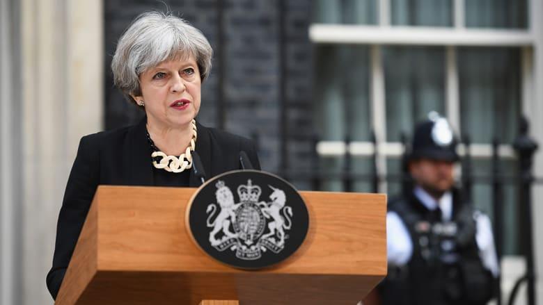 """تيريزا ماي تحمل """"المتشددين الإسلاميين"""" مسؤولية هجوم لندن بريدج: علينا هزمهم"""