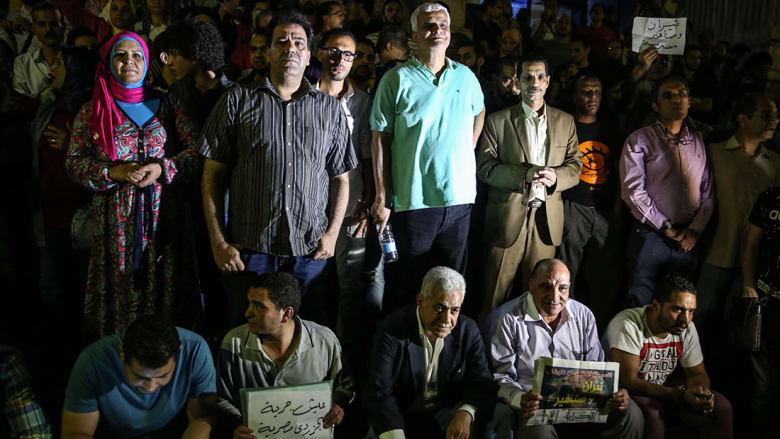 """""""اعتصام رمزي"""" يثير ضجة وسخرية في مصر.. ونشطاء: فضيحة تُبكي أكثر مما تُضحك"""