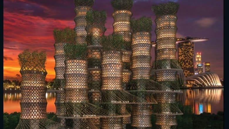 هل تسكن في برج إن علمت بأنه مصنوع من هذه المادة؟