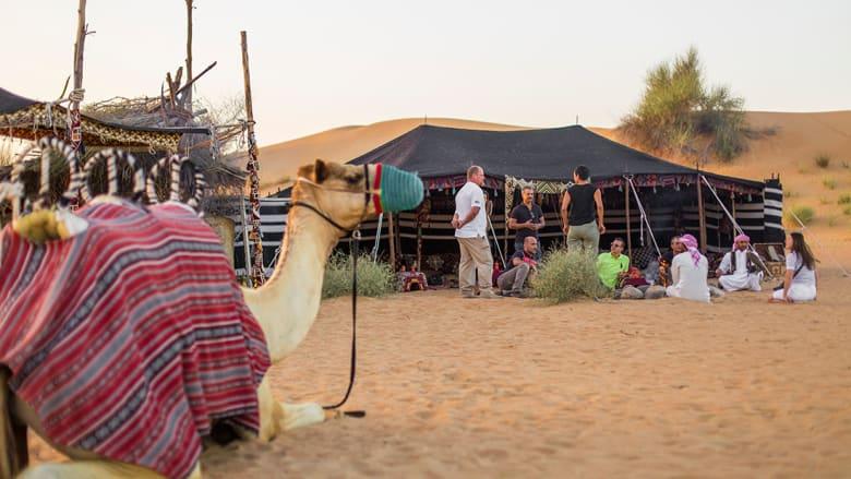 لؤلؤ ولقيمات وصقور.. هكذا تمزج الإمارات التراث والرفاهية!