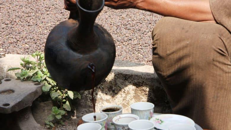 """لعشاق البن العربي.. منبع المشروب """"المقدس"""" هنا"""