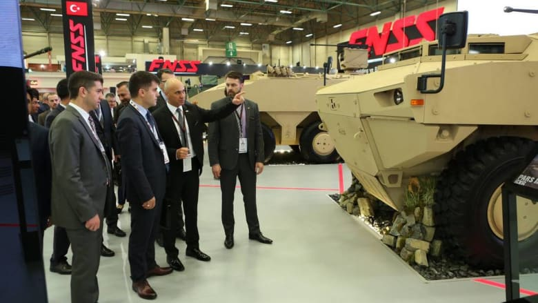 سلطنة عمان تتسلّم أوّل مدرعة قتالية من تركيا في إطار اتفاق عسكري