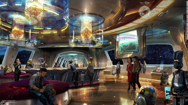 """فندق ينقلك إلى عالم """"حرب النجوم"""" في العام 2019"""