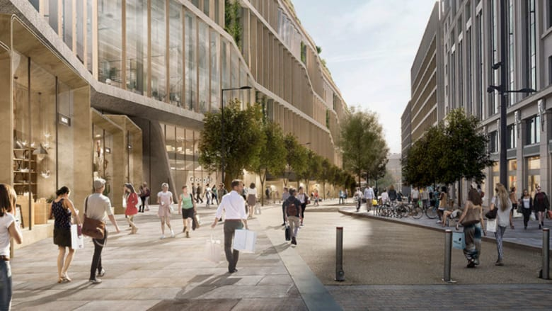 """بمساحة مليون قدم مربع.. تصوّر لمقر """"غوغل"""" الجديد في لندن"""