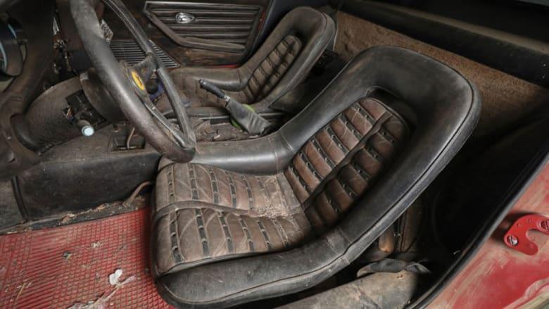 """العثور على سيارة  """"فيراري"""" نادرة فقدت لـ 40 عاماً"""