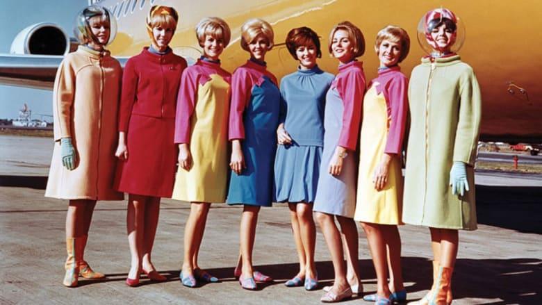 كيف كانت ثياب مضيفات الطيران عبر التاريخ؟