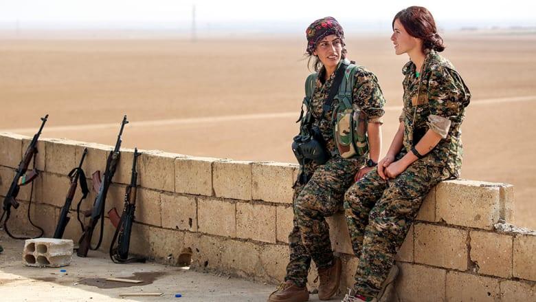 بالصور.. كرديات ساعدن بهزيمة داعش وتحرير الرقة