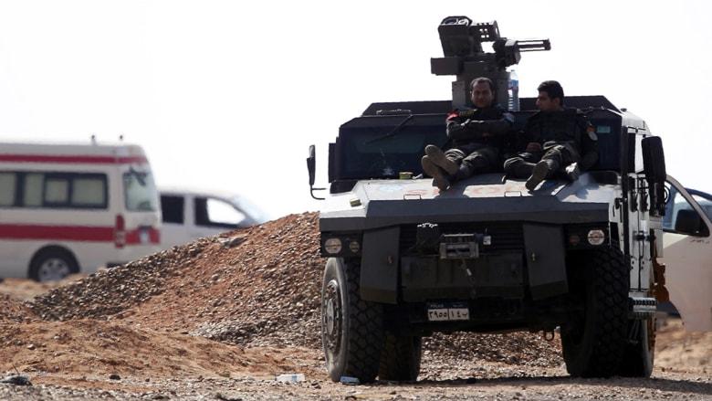 الداخلية المصرية تعلن مقتل 16 شرطياً وإصابة 13 في عملية الواحات