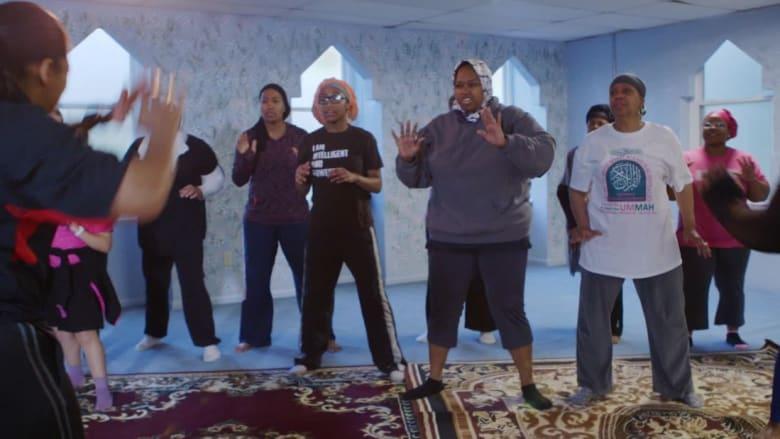 شاهد.. مسلمات يتعلمن فن الدفاع عن النفس في أمريكا