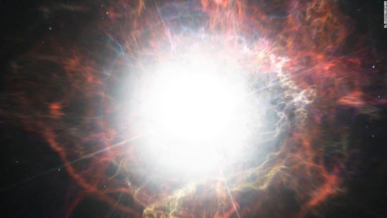 """شاهد.. علماء فلك يرصدون أول """"نجم زومبي"""""""