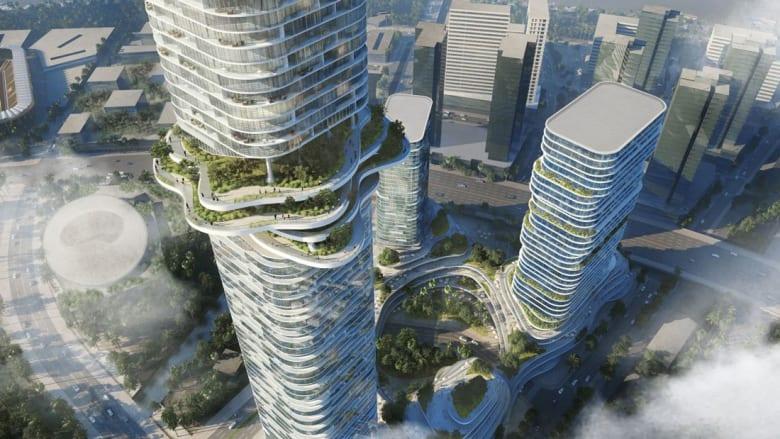 """شاهد """"غابة السماء"""" التي ستنمو قريباً في فيتنام"""