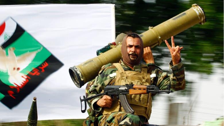 الصدر يأمر سرايا السلام تسليم سلاحها ومواقعها للقوات العراقية عدا سامراء