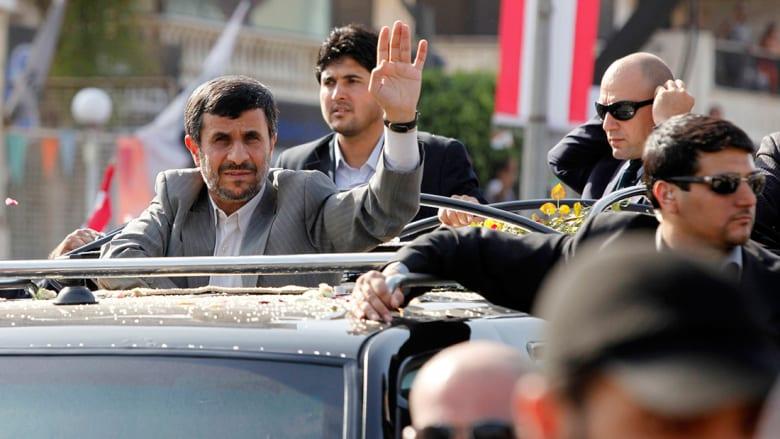 كامليا انتخابي فرد تكتب لـCNN: بروز محمود أحمدي نجاد