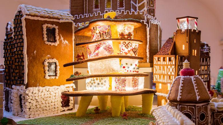 أشهر معماري العالم يبنون مدينة أعياد صالحة للأكل!