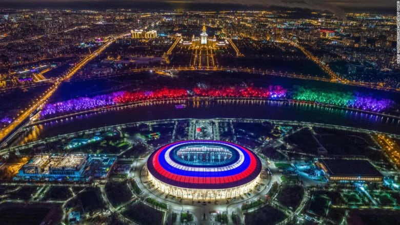 """ملعب بارتفاع شلالات """"نياغرا"""" في روسيا"""