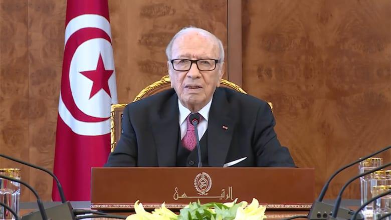 السبسي: الإعلام الأجنبي ضخم ما يجري بتونس