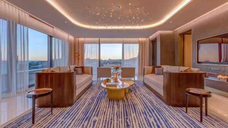 داخل الجناح الفندقي الفاخر..بـ48 ألف دولار لليلة واحدة