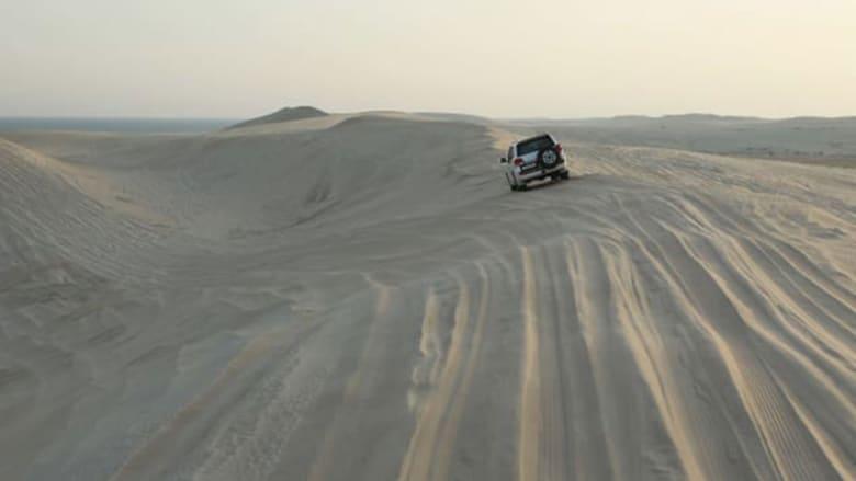 جولة في صحارى قطر بسيارات الدفع الرباعي