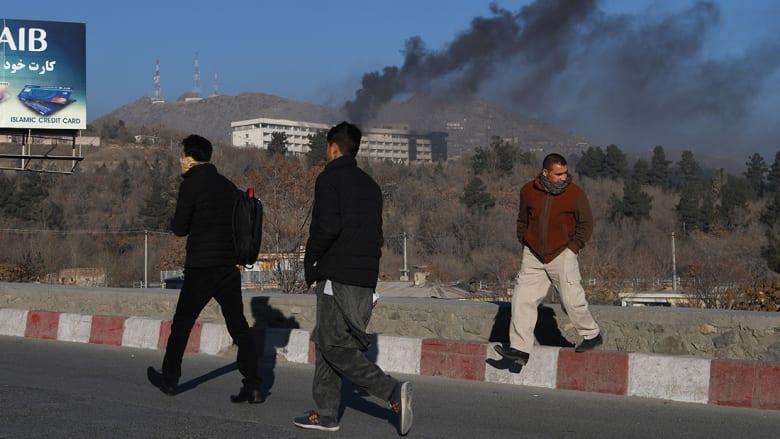 طالبان تتبنى هجوم فندق انتركونتيننتال بكابول