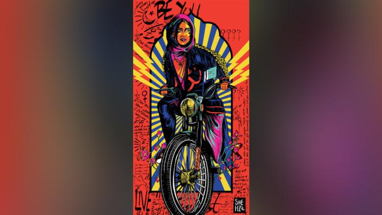 مصممة تُشعل الجدل برسومات جريئة للنساء في باكستان