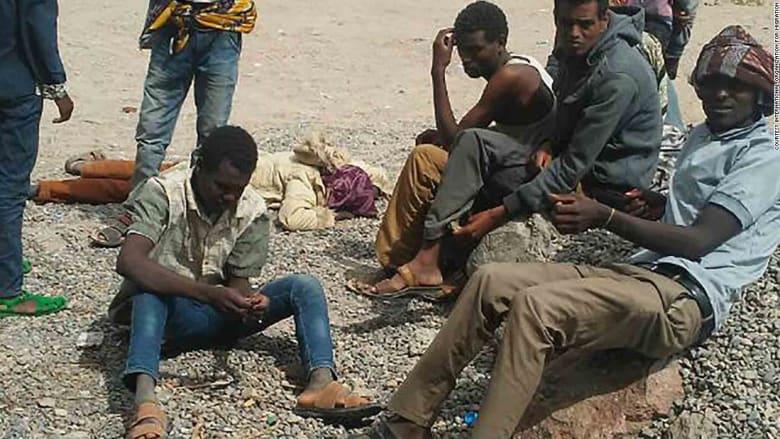 منظمات دولية تستنكر مقتل 30 لاجئاً على سواحل اليمن