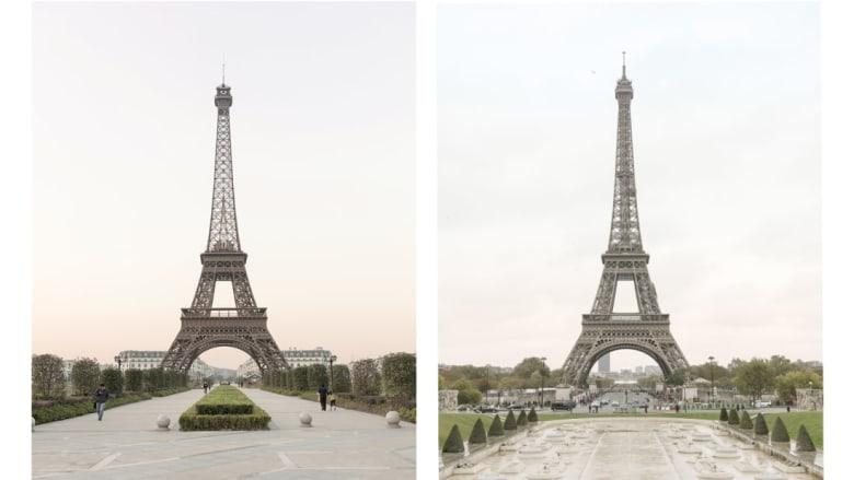 """باريس """"مزيفة؟"""" هل يمكنك ملاحظة الفرق؟"""