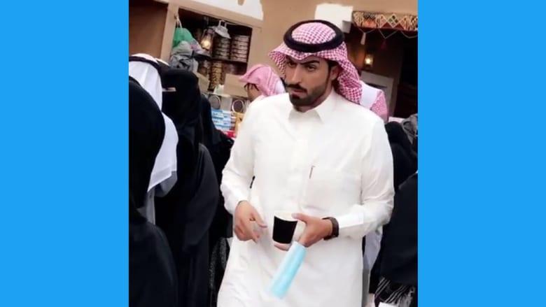 """بائع """"كليجا"""" يثير جدلاً في السعودية بسبب وسامته"""
