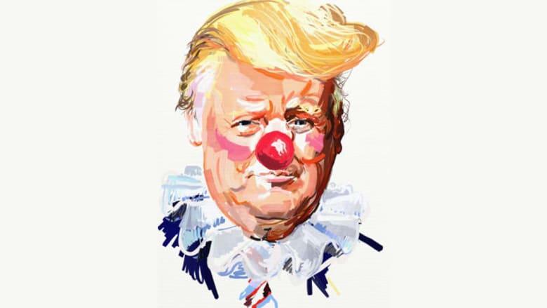 الرئيس الأمريكي دونالد ترامب ومسؤولوه بأنوف حمراء
