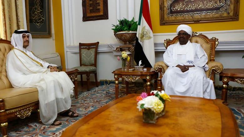 رسالة من أمير قطر إلى البشير غداة زيارة مدير المخابرات المصرية للسودان