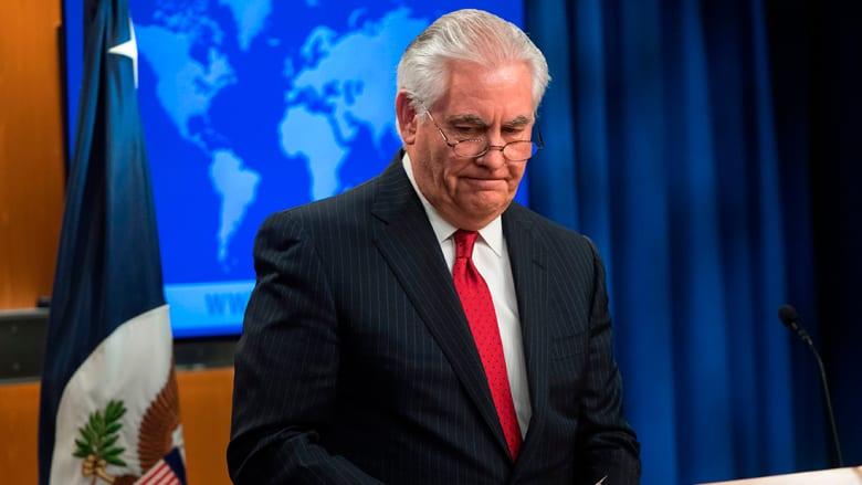 تيلرسون يبرز بأول خطاب بعد إقالته إنجازاته بكوريا الشمالية وسوريا وأفغانستان