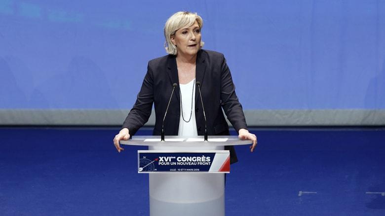"""مارين لوبان تريد إعادة تسمية حزبها """"القومي الفرنسي"""""""