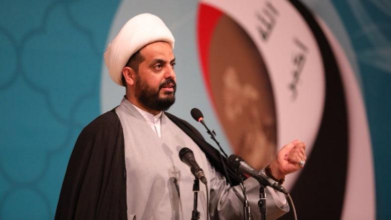 """الخزعلي يطالب السعودية بـ""""دفع الثمن"""".. وخالد بن أحمد: """"ما يترس عينه إلا التراب"""""""