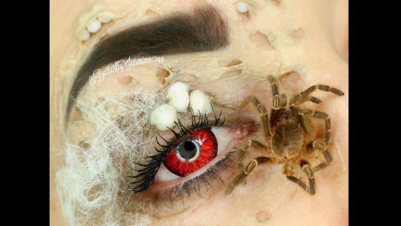"""ماكياج """"العناكب"""" هل هو آخر صيحات الجمال؟"""