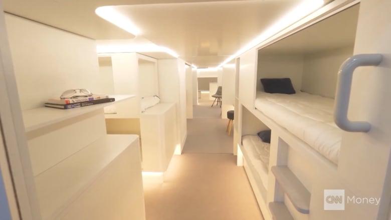 طائرة إيرباص تضيف أسرة لنوم الركاب في العام 2020