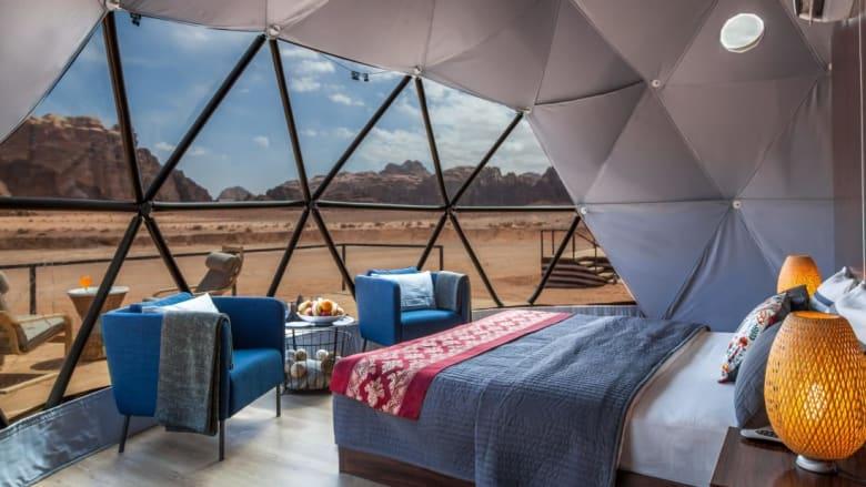 اذهب إلى كوكب المريخ من وادي رم بالأردن