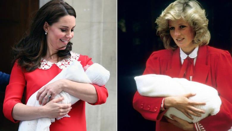 كيف أحيت كيت ميدلتون ذكرى الأميرة ديانا بعد إنجابها؟