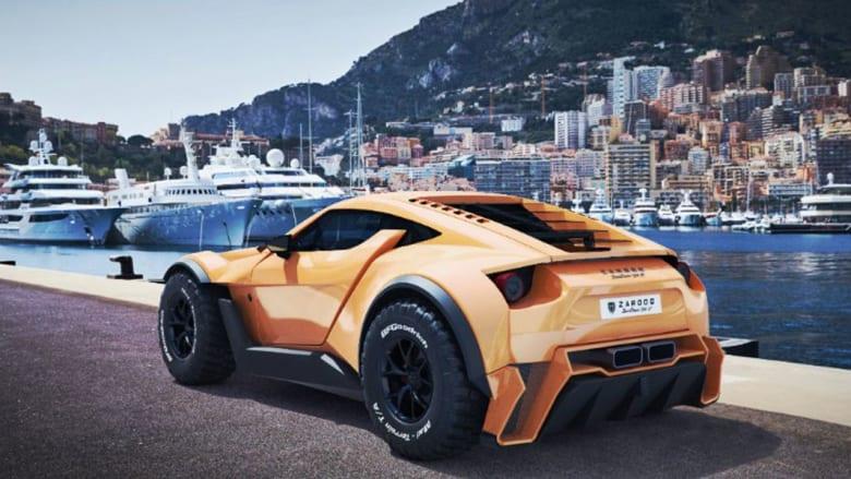 """من دبي إلى العالم..سيارة """"زاروق"""" التي تقهر رمال الصحراء"""