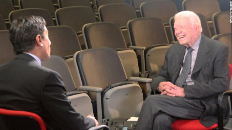 """جيمي كارتر لـCNN: توقيع رئيس أمريكا لأي اتفاق ملزم لمن يخلفه.. وترامب اقترف أكبر خطأ بالانسحاب من """"نووي إيران"""""""