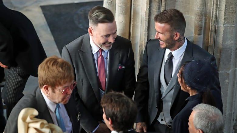 بالصور.. مشاهير بالزفاف الملكي البريطاني