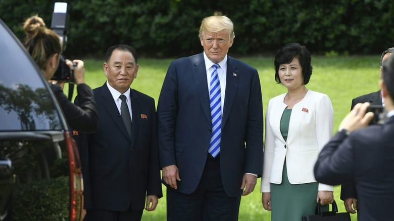 لقاء نادر بالبيت الأبيض ينتهي بتراجع ترامب عن إلغاء قمته مع زعيم كوريا الشمالية
