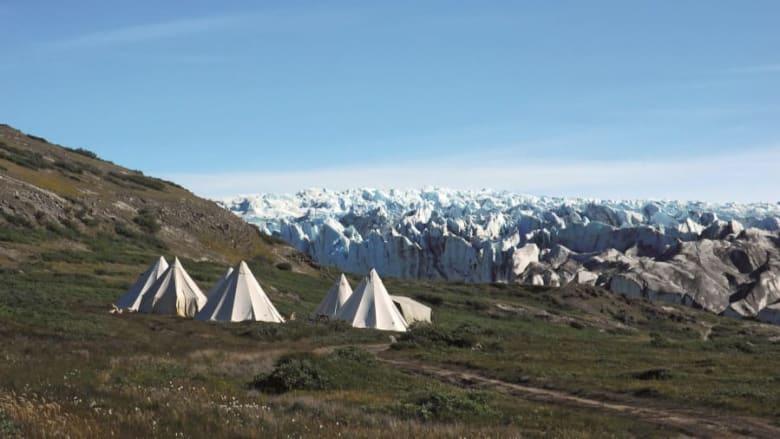 """أراضي """"أيسيفيسوت-نيبيسات"""" الواقعة بين البحر والجليد والتي تستخدمها قبائل الإنويت للصيد في الدنمارك"""