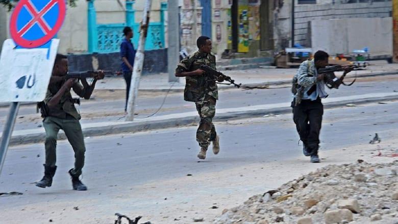 """هجمات """"إرهابية"""" تستهدف مبنى وزارة الداخلية في الصومال"""