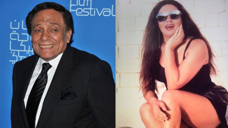 عادل إمام يسخر من علاقة فيفي عبده بهزيمة منتخب مصر بكأس العالم