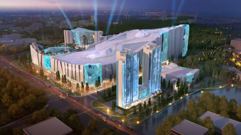 """شركة """"ماجد الفطيم"""" تساعد الصين في تطوير أكبر منتجع تزلج في العالم"""