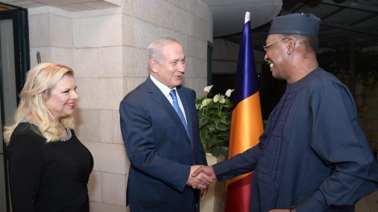 """نتنياهو بعد """"لقاء تاريخي"""" مع رئيس تشاد: سأقوم بزيارات أخرى إلى الدول العربية قريبا"""
