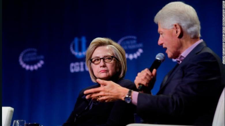 """الزوج كلينتون يتحدثان عن سبب """"مشاركة ترامب بتغطية مقتل خاشقجي"""""""