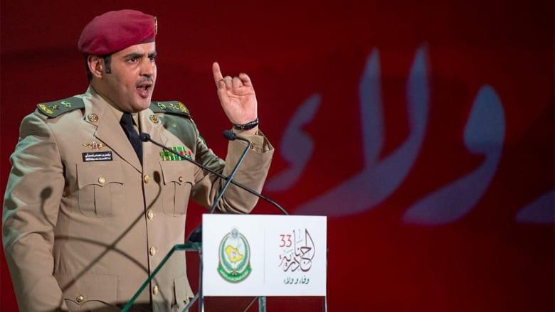 السياسة بارزة بقصيدة الحارثي أمام الملك سلمان بمهرجان الجنادرية؟